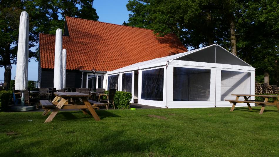 Alu tent huren in Twente