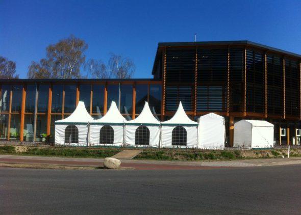 Pagode tent 3x4 meter huren Enschede