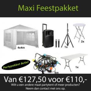 Maxi Feestpakket Huren - Partytentverhuur Twente