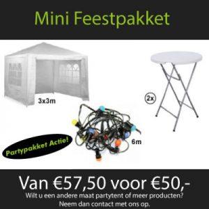 Mini Partypakket Huren - Partytentverhuur Twente