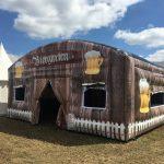 Biergarten tent huren in Twente